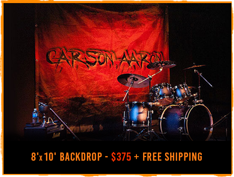 Band backdrop design