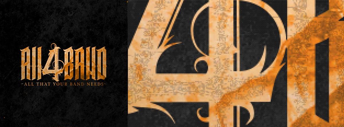 Pixels in raster logo