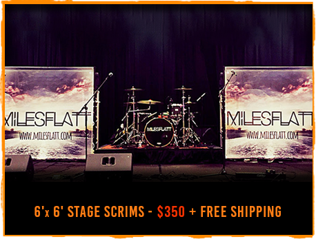 Band backdrop design