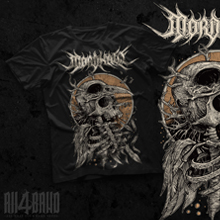 Death metal shirt design